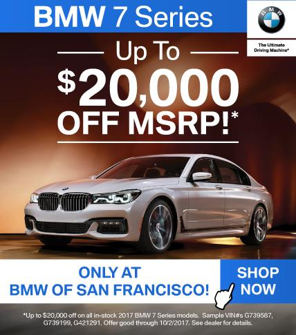 BMW 7 Series Offer