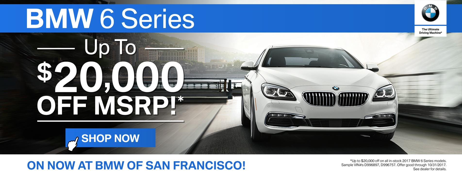 BMW 6 Series Offer