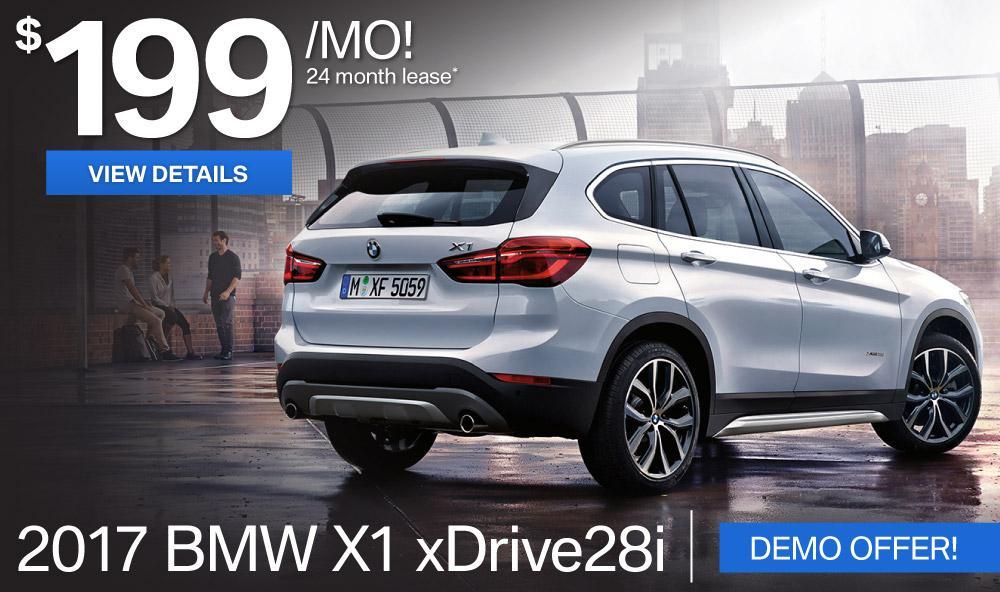 BMWSF X1 Offer