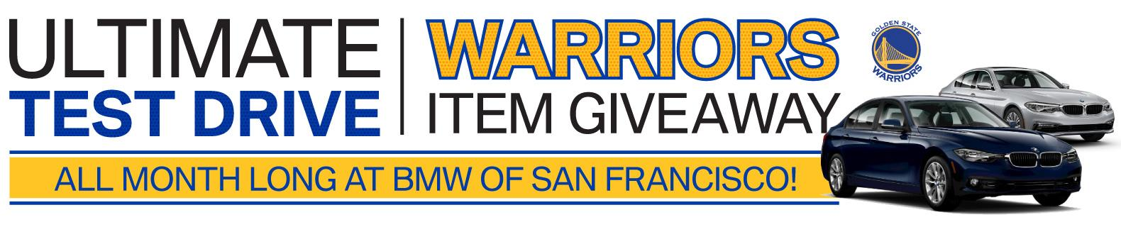 Ultimate Test Drive Warriors Item Giveaway