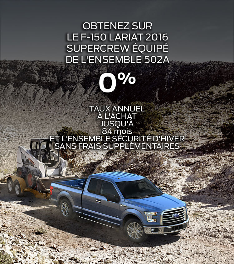 Concessionnaire Ford Situé à Valleyfield,