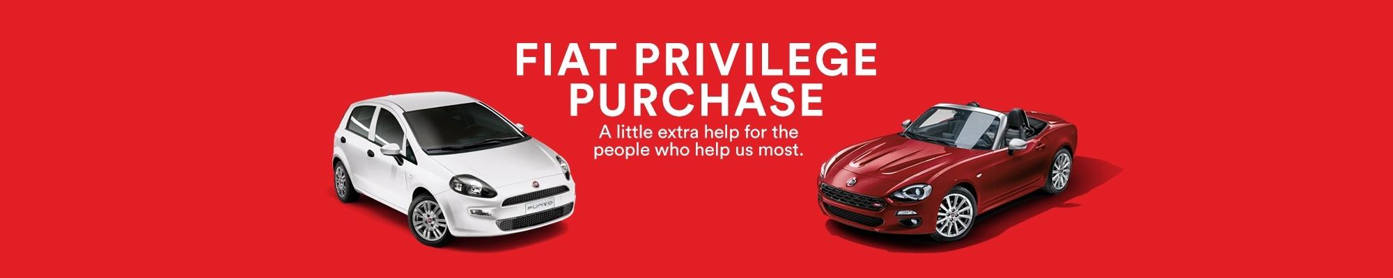 Fiat Privilege Purchase Scheme