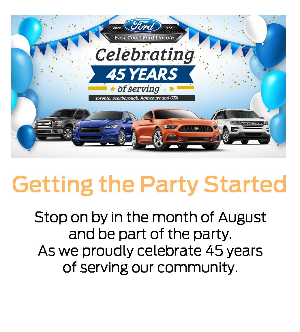 ECFL - 45th Birthday Celebration