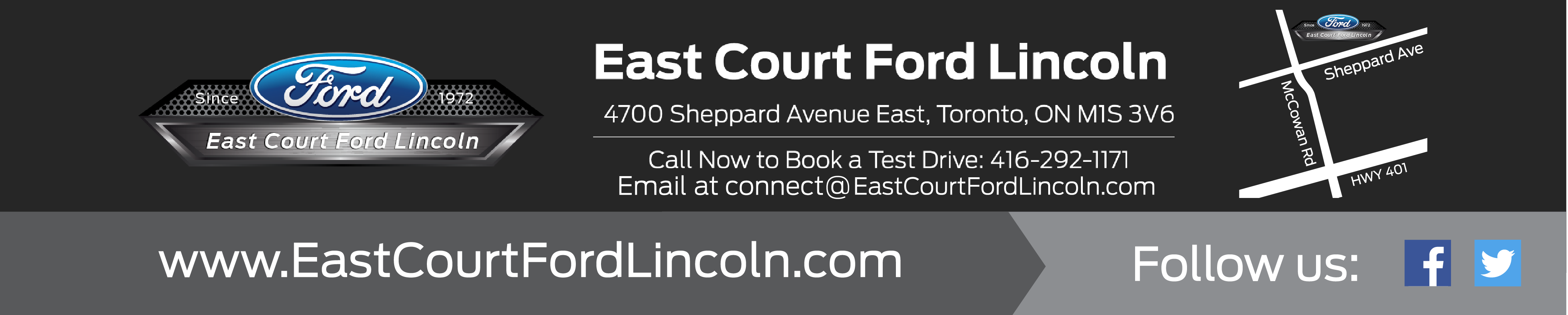 East Court Ford Lincoln Footer