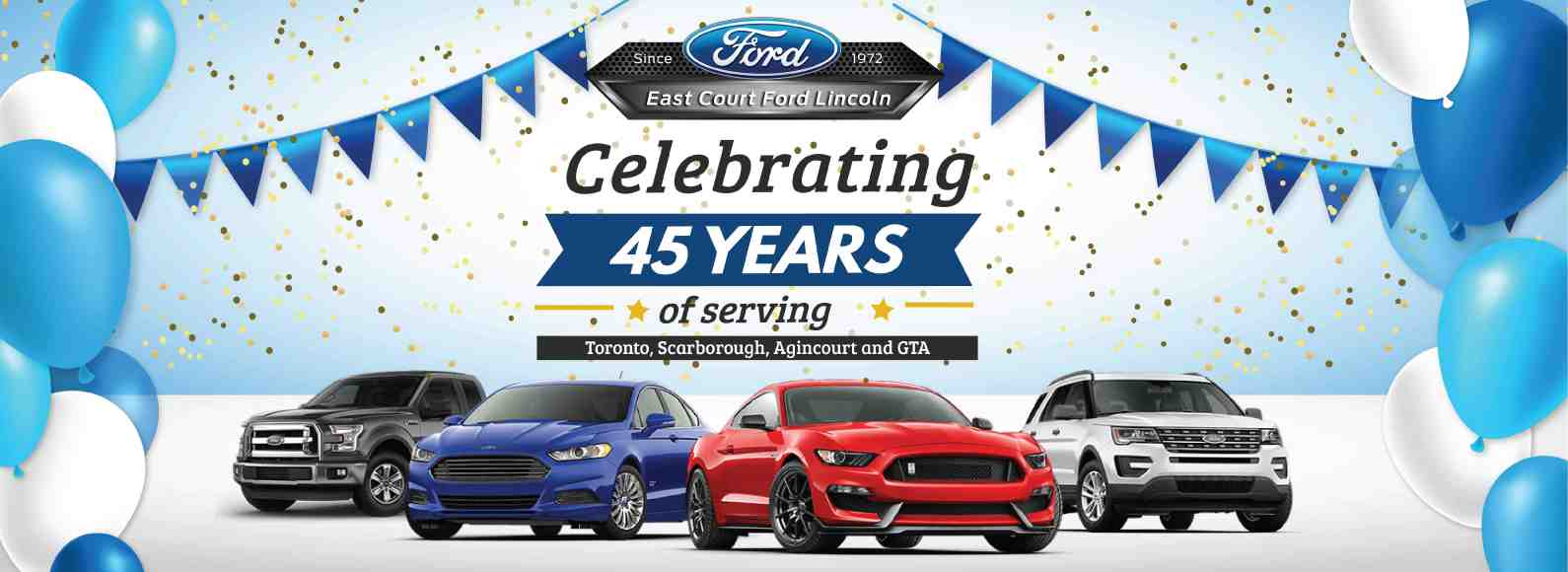 Dealership 45th Anniversary