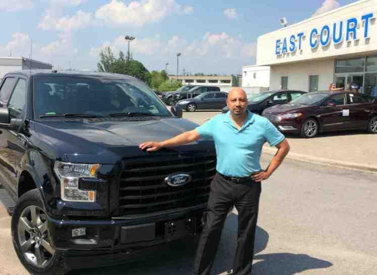 Ford 150 Sam Thapa