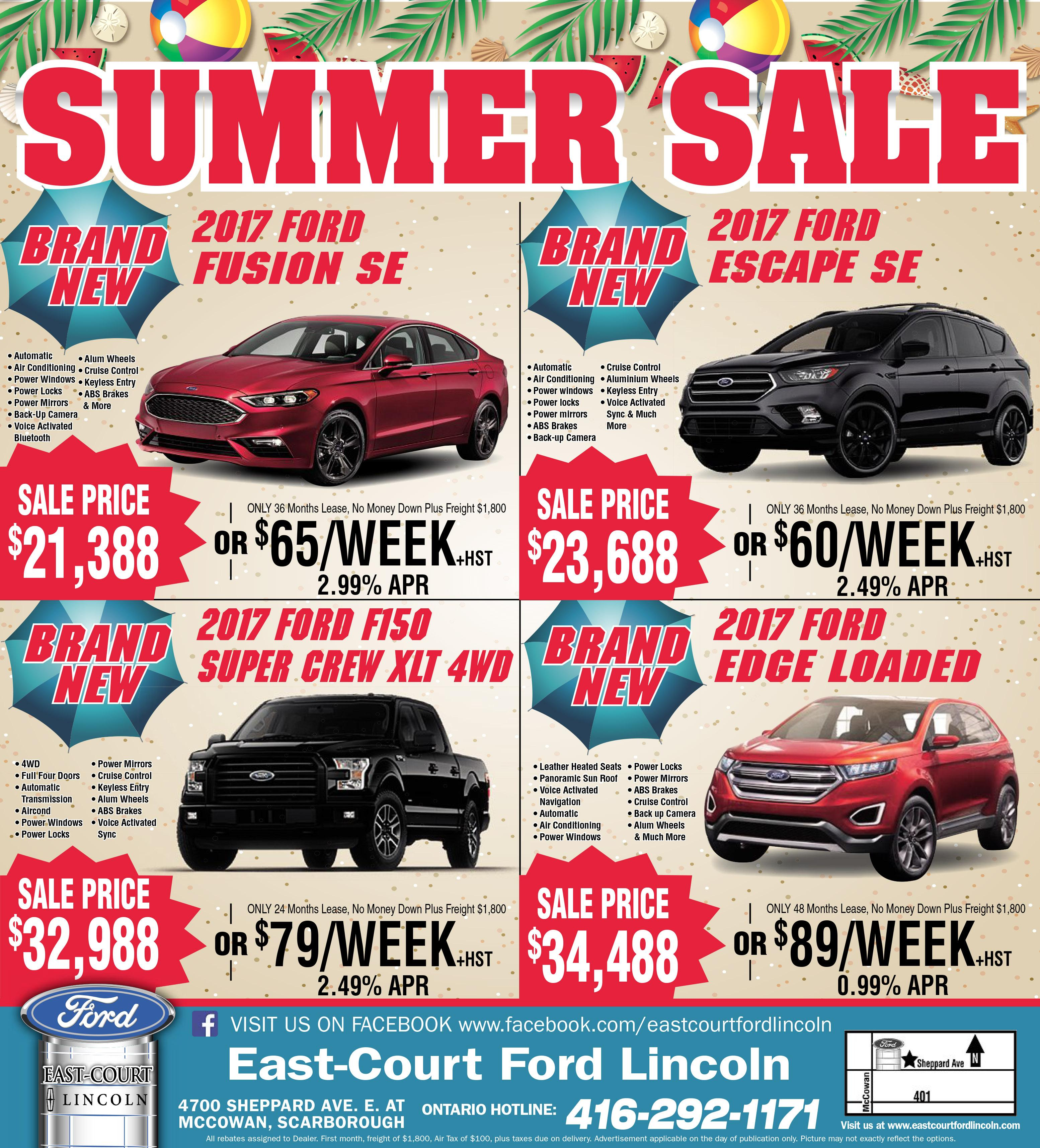 East-Court Ford Pre-Owned Super Sale