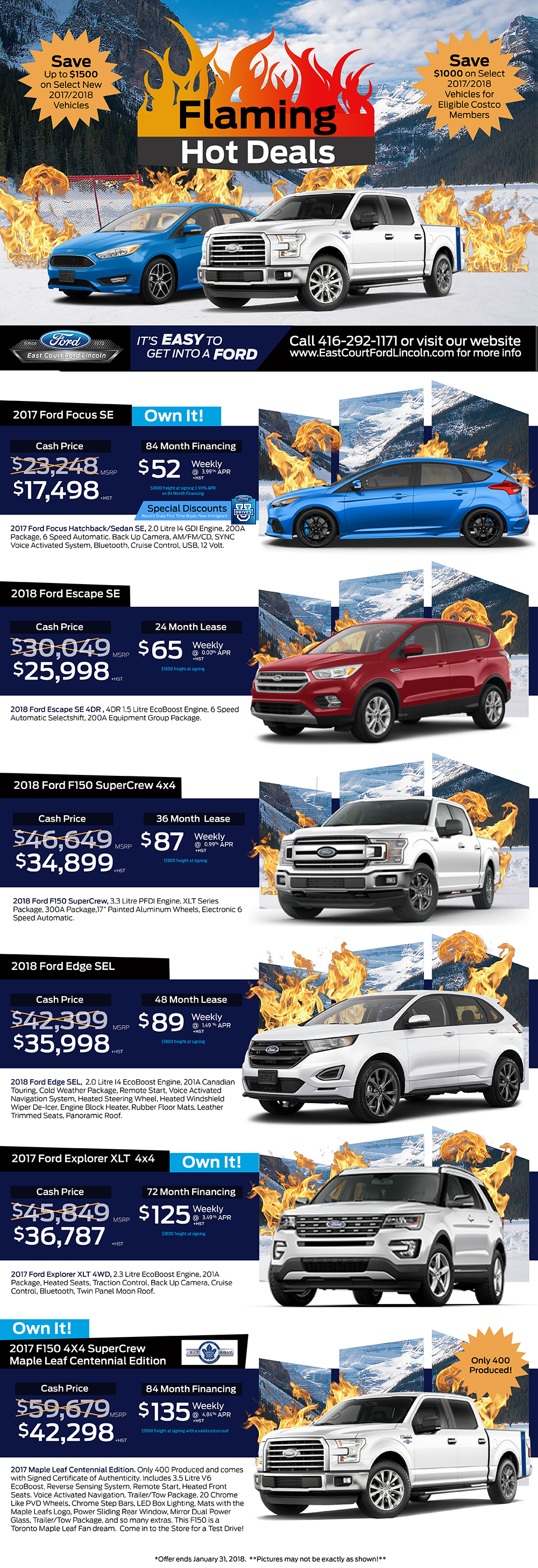 East Court Ford Lincoln Flaming Deals