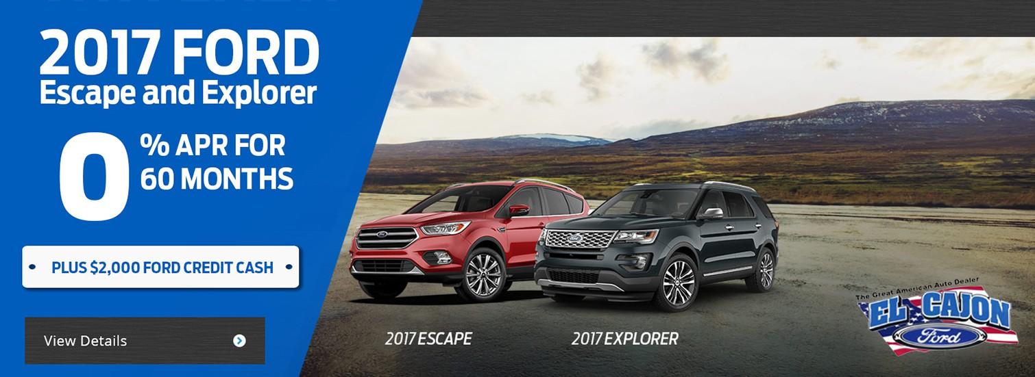 2017 Escape Explorer