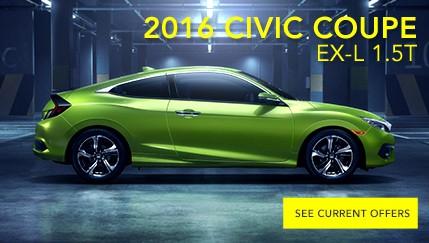 2016 Civic Coupe EX-L 1.5T