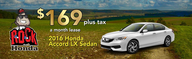 2016 Honda Accord LX Sedan Lease