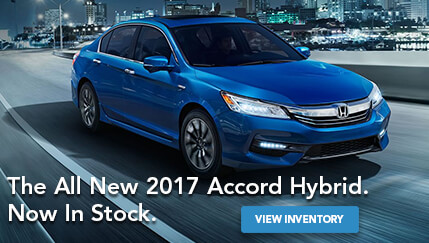The All New 2017 Accord Hybrid
