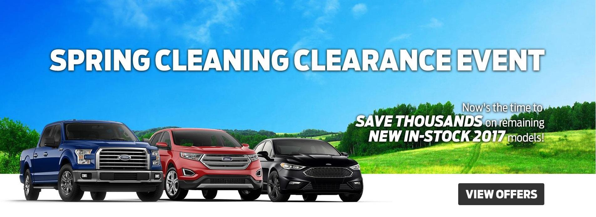 2017 Clearance at Suburban Motors