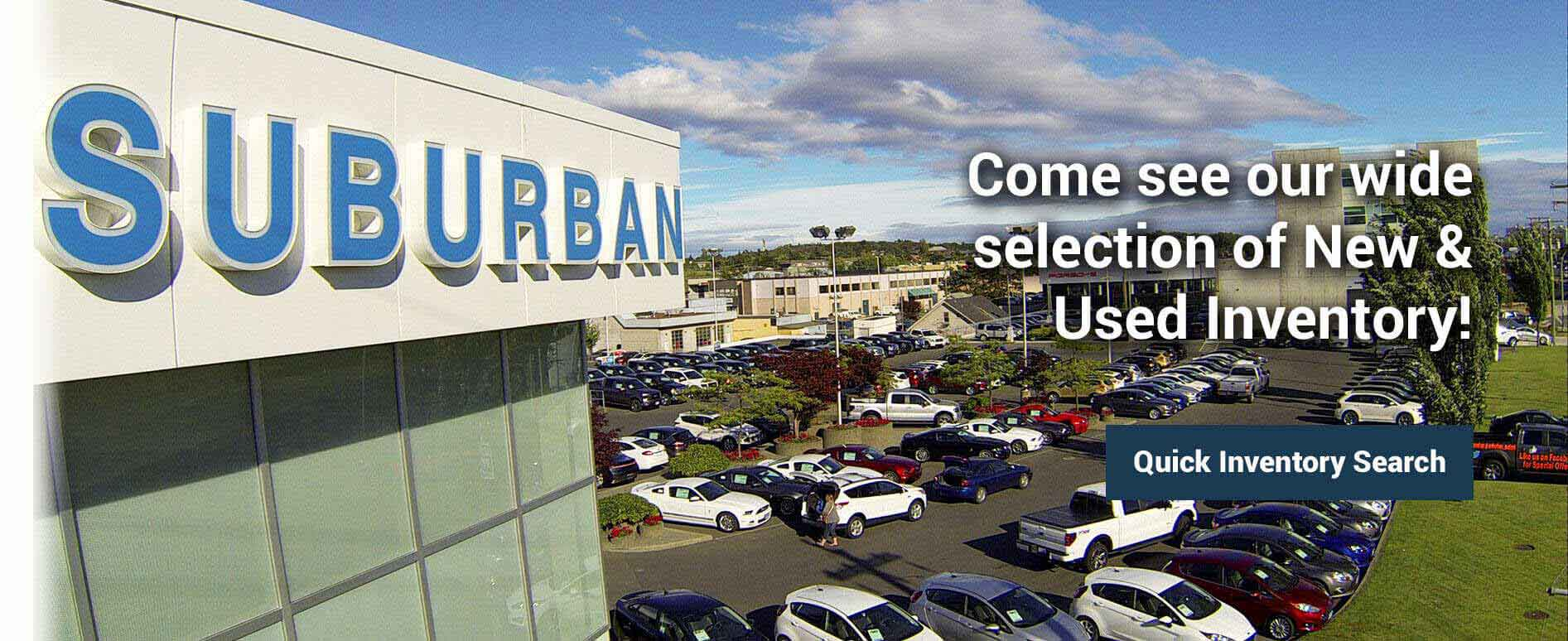 Welcome to Suburban Motors - Quick Inventory Search