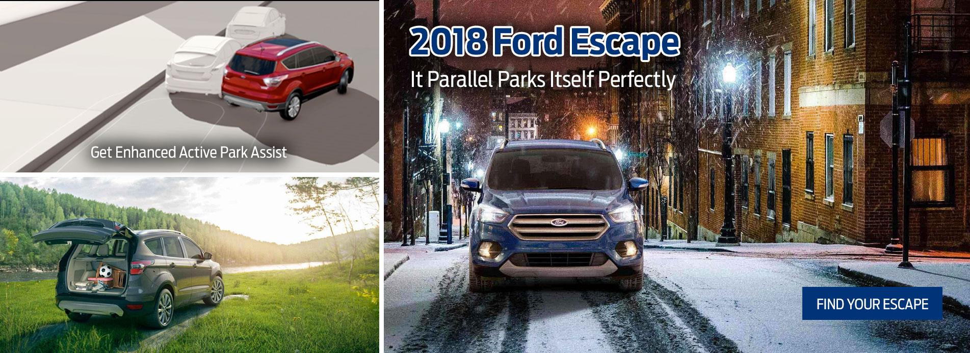 2018 Escape at Suburban Motors Victoria