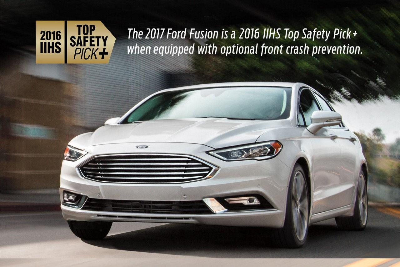 2016 IIHS Top Safety Pick - 2017 Fusion