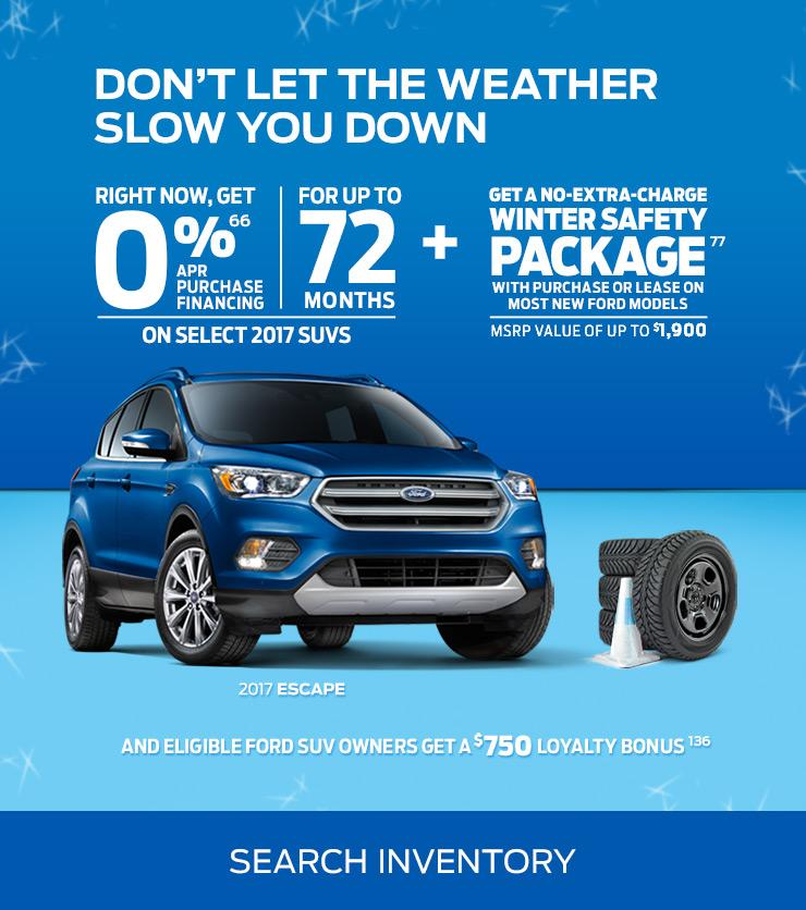 No Extra Charge Winter Safety Package