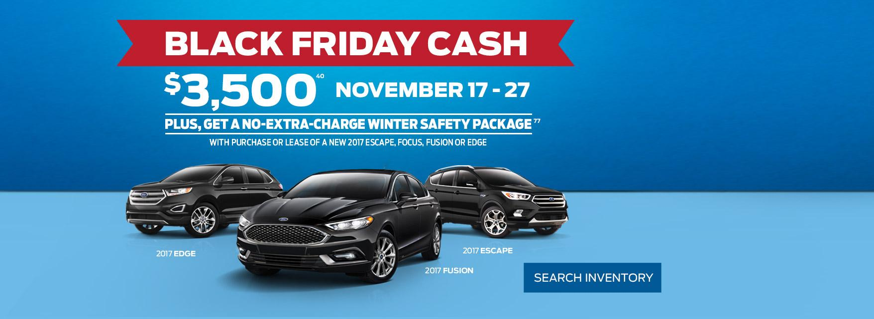Black Friday Cash