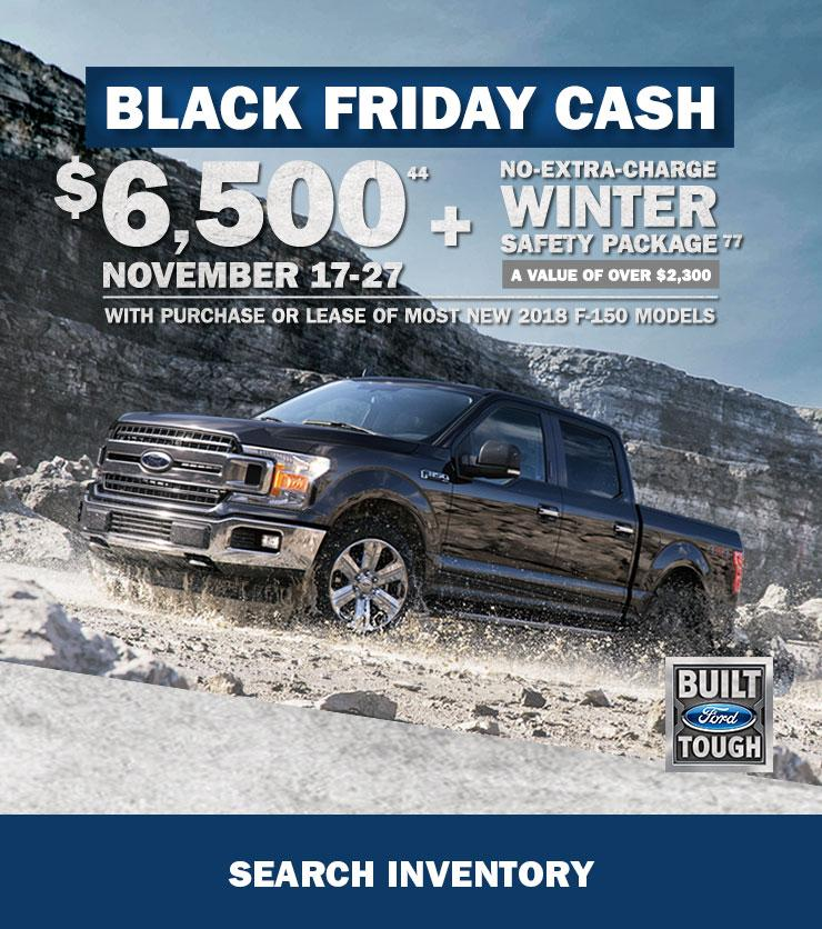 Black Friday F-150 Cash
