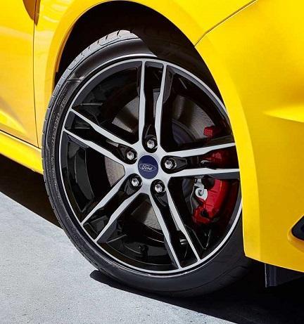 2017 Focus ST wheel