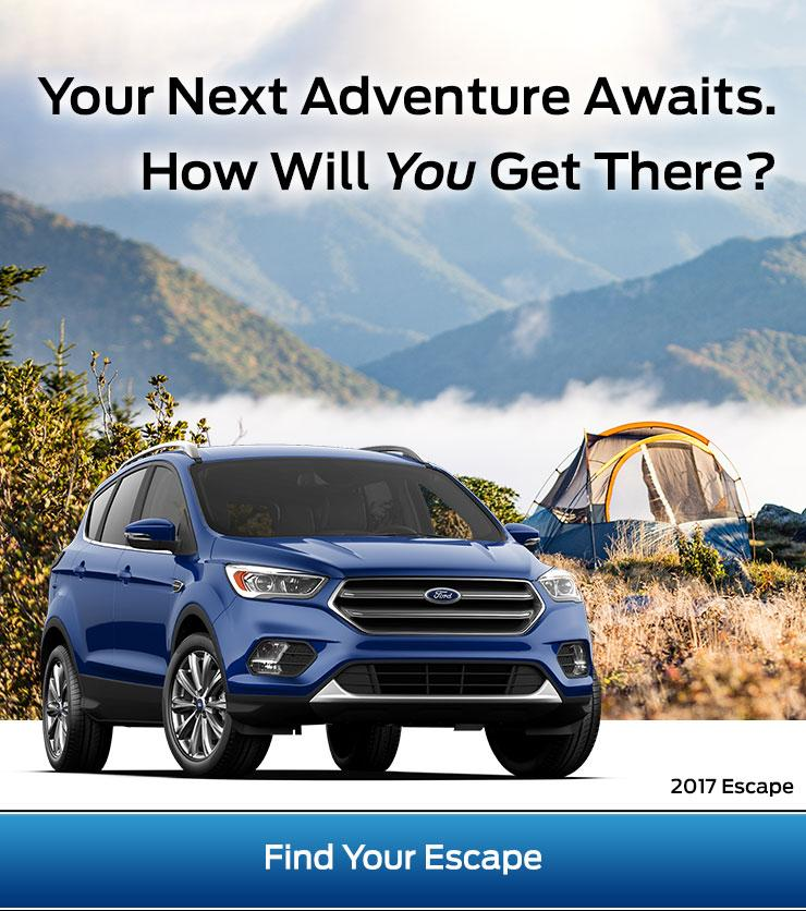 2017 Escape at Terrace Totem Ford and Snow Valley Ford