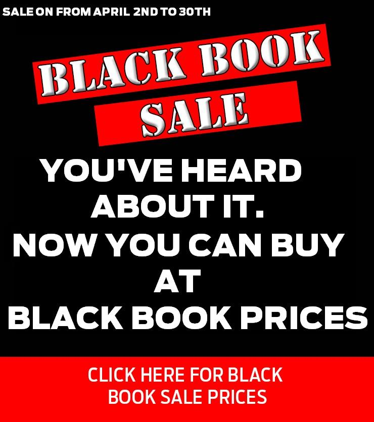 Black Book Sale - You've Heard About it. Now You Can Buy At Black Book Prices Until April 30th