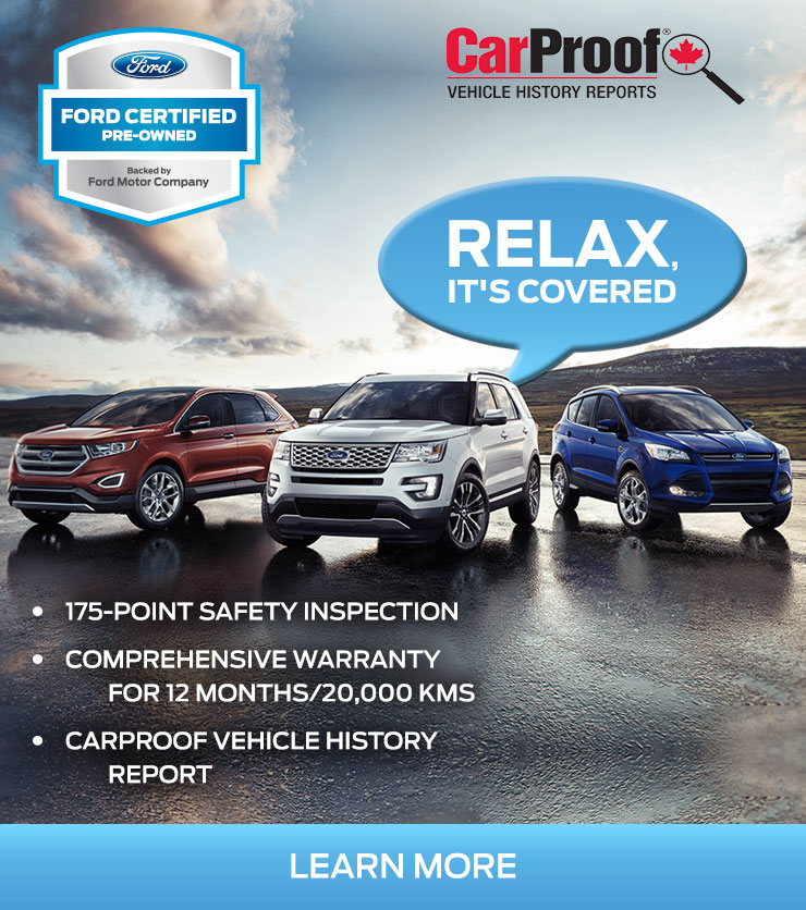 Relax, it's covered! Ford Certified Pre-Owned Inventory in Terrace BC