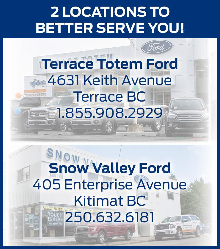Terrace Totem Ford Snow Valley Ford