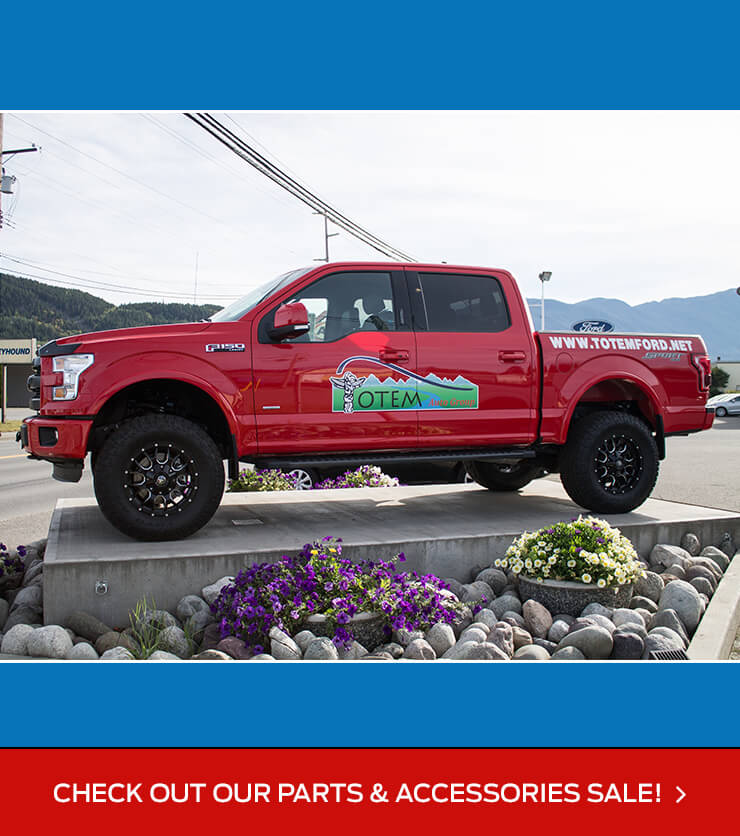 Parts and Accessories on Sale at Terrace Totem Ford