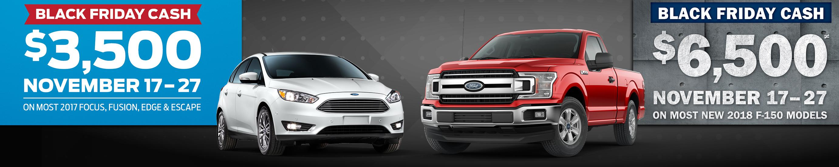 Black Friday at Terrace Totem and Snow Valley Ford