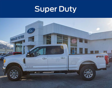 Commercial & Small Business Ford Super Duty at Terrace Totem and Snow Valley Ford
