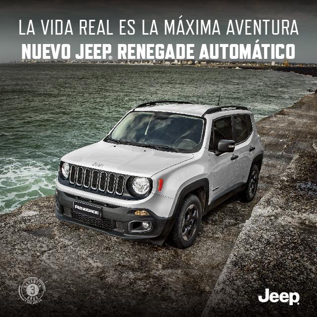 Nuevo Jeep Renegade Automático