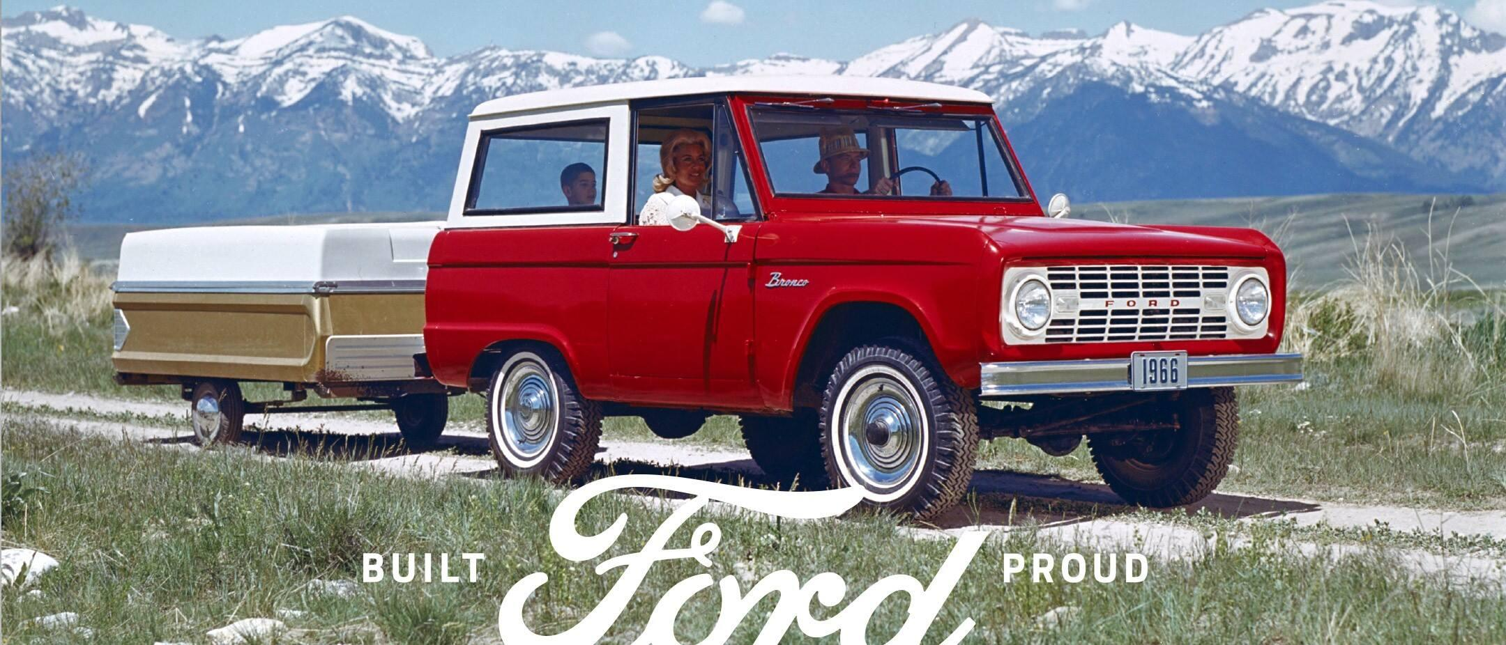 Ford Bronco Rides Again | See Its Heritage | South Bay Ford