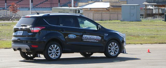 Jubilee Ford Escape on Driving Skills Course