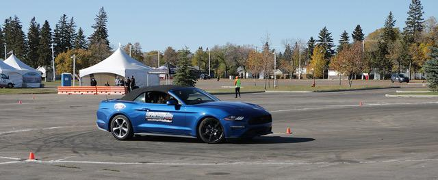 Jubilee Ford Mustang On Course