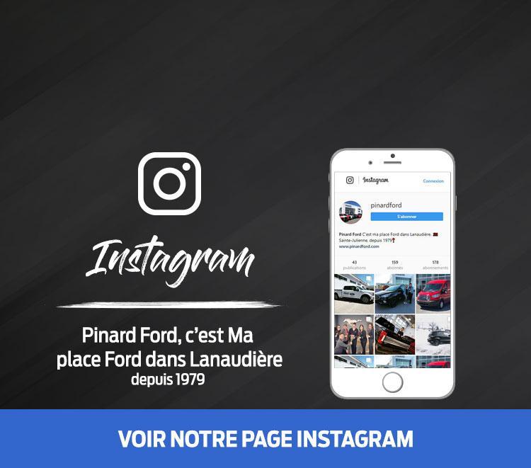 Instagram Pinard Ford