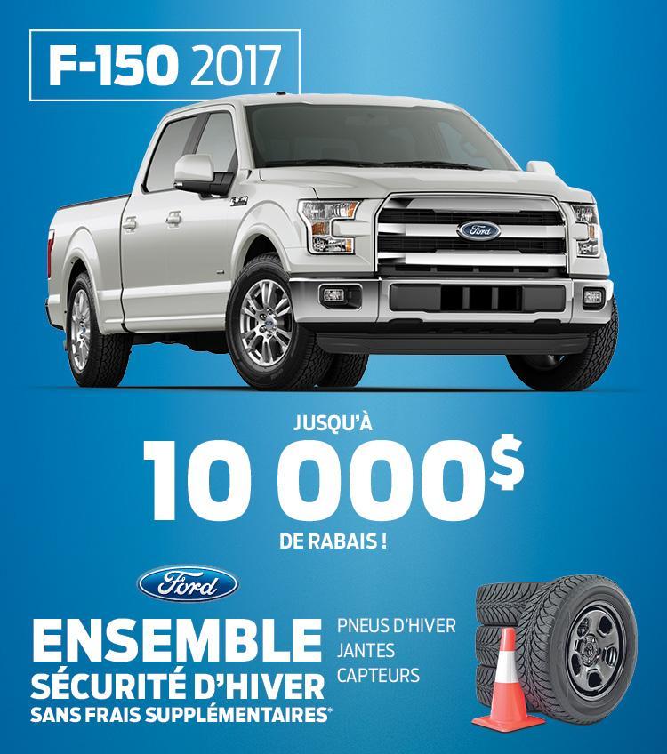 F-150 10,000$ Desjardins Ford