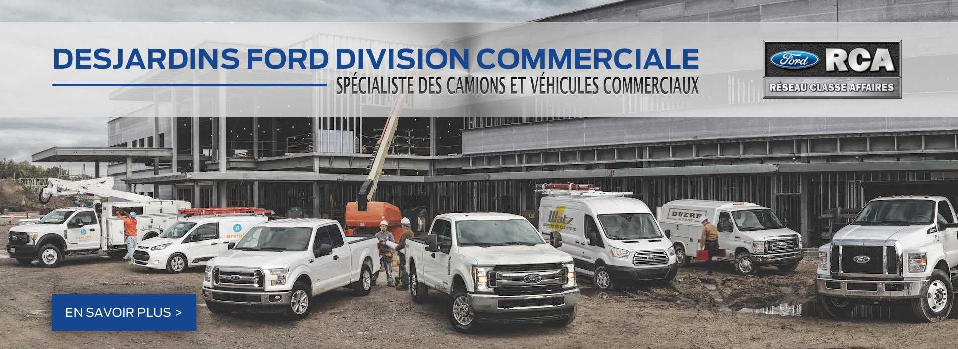 Desjardins Ford Division Commercial
