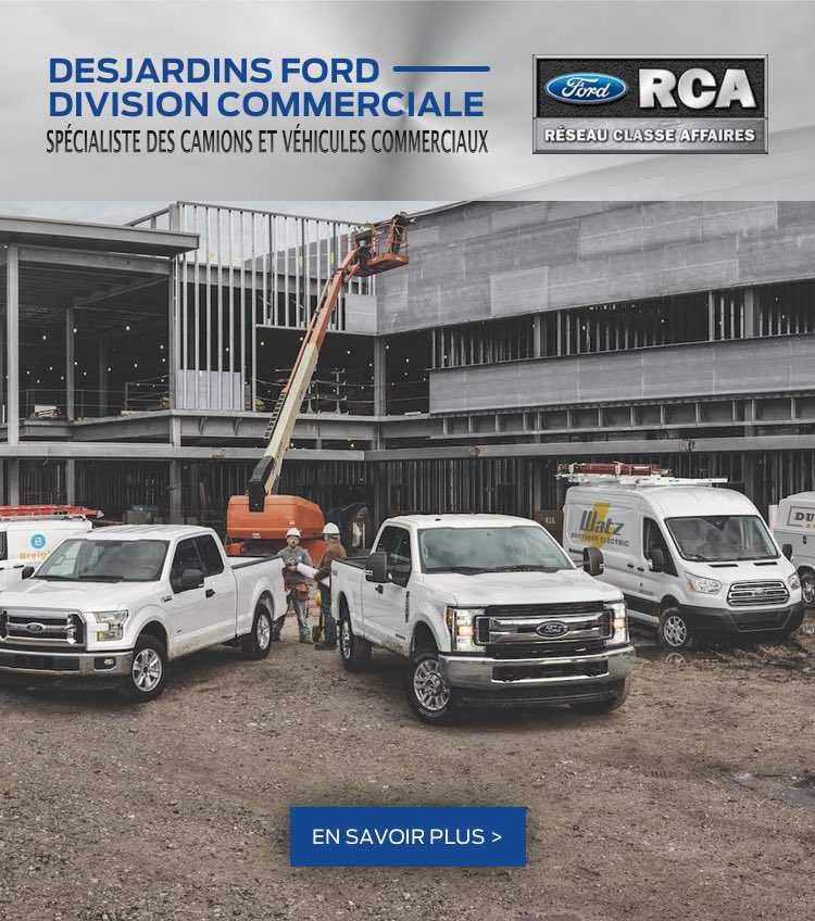 Desjardins Ford Division Commerciale