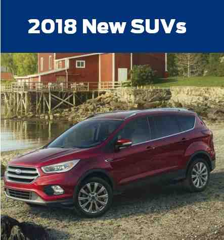 2018 New SUVs at Royal Ford in Yorkton SK
