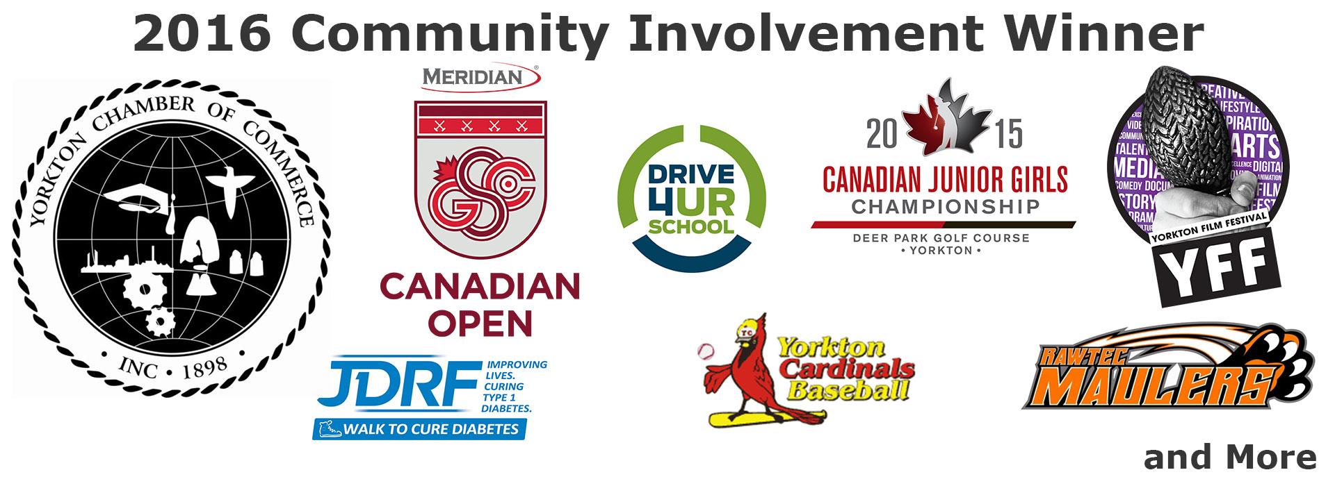 Community Involvement Winner