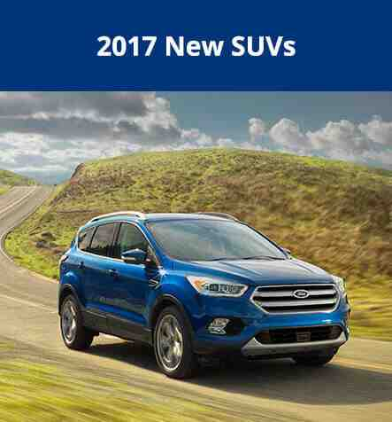 2017 New SUVs at Royal Ford in Yorkton SK