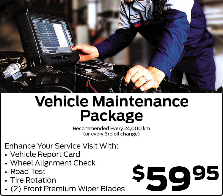 Vehicle Maintenance Package