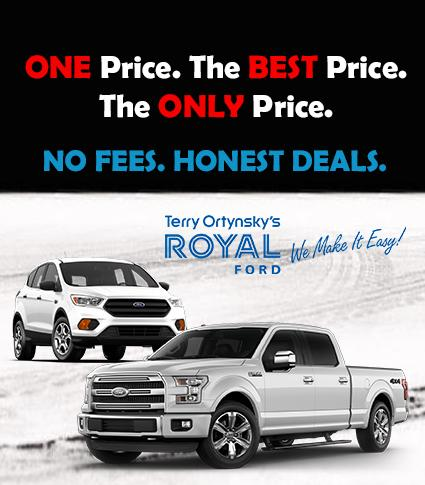 One Price. The Best Price. The Only Price. Royal Ford Yorkton
