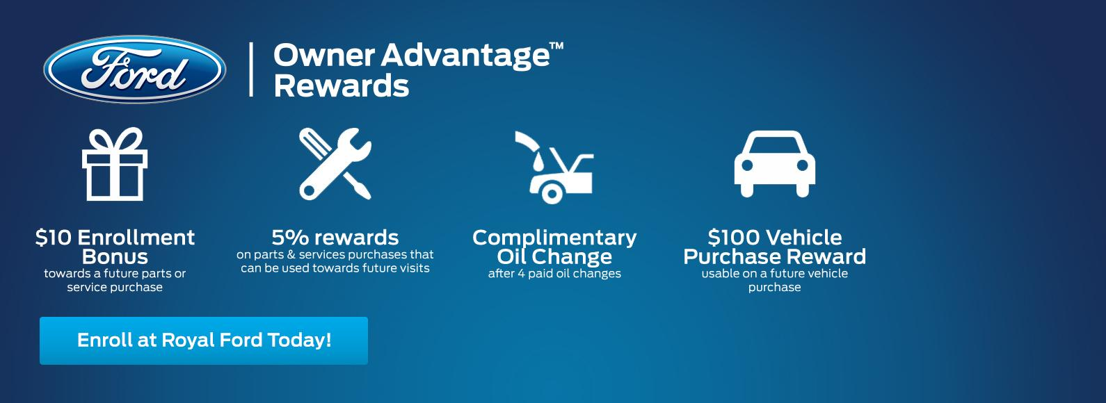 Owner Advantage Rewards