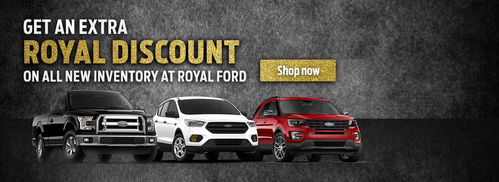 Royal Discount at Royal Ford