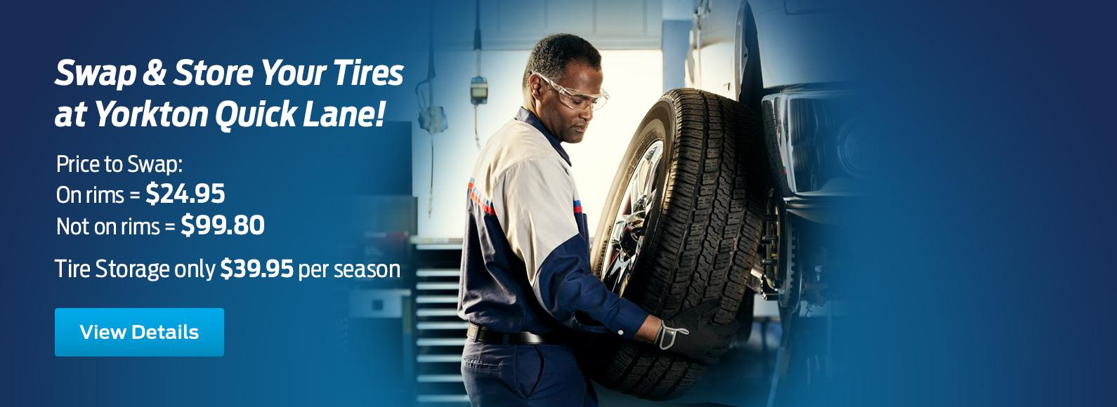 Tire Rotation Royal Ford Yorkton