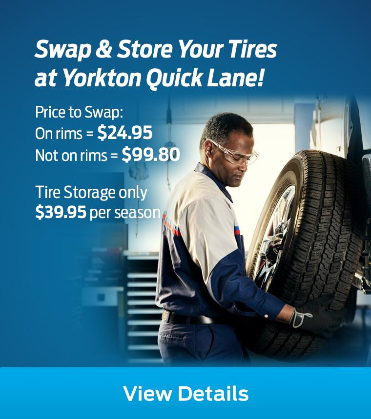Tire Rotation Yorkton Quick Lane