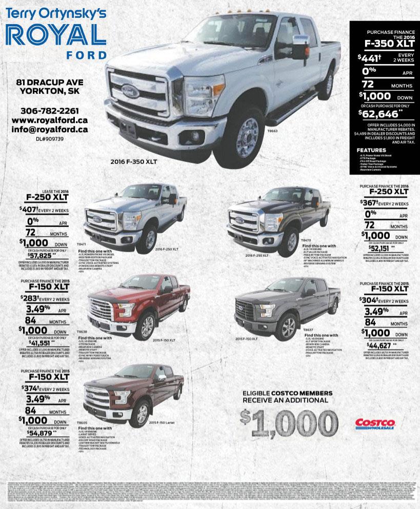Royal Ford your Yorkton SK Ford Dealer