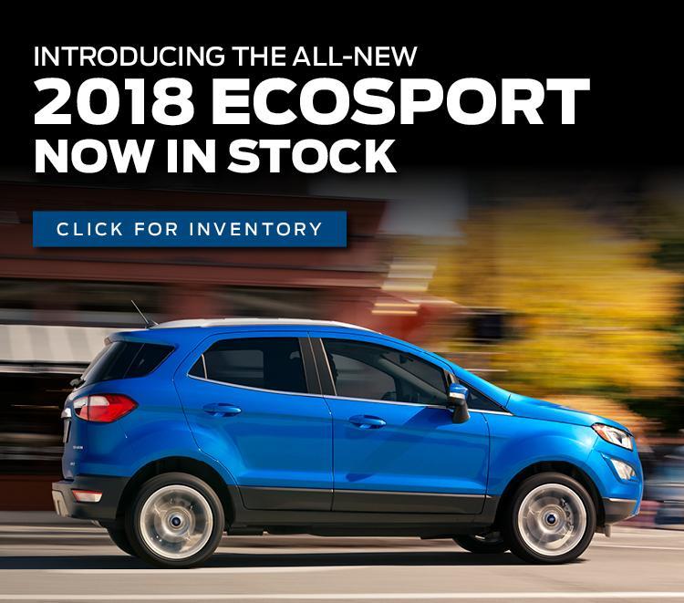 2018 EcoSport Inventory